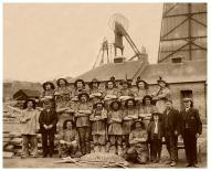 c1880 Miners at Dixon's Pit (PV)