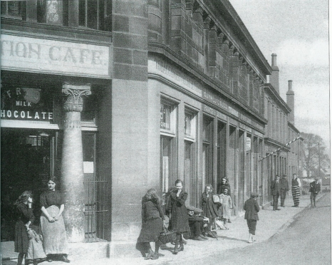c1921 Station Cafe, Kirkton Cross (PV)