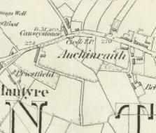 1859 Map of Auchinraith