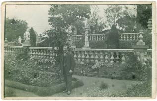 1924 JB Struthers at Auchentibber (PV family photo)