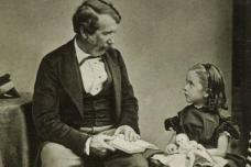 1861 David Livingstone and daughter Anna.