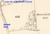 1859 Old Mains Map