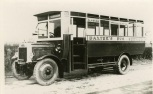 1925 Baxters Bus, Glasgow Road
