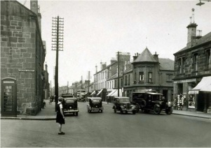 1937 Church Street and Glasgow Road, Blantyre