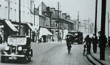 1937 Close up of Glasgow Road near John Street and bottom of Logan Street on right