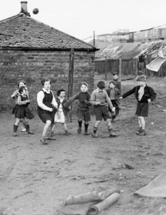 1948 Kids play at Priory Row Colliery