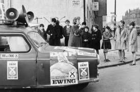 1967 Winnie Ewing for SNP at Priory Street, Glasgow Rd