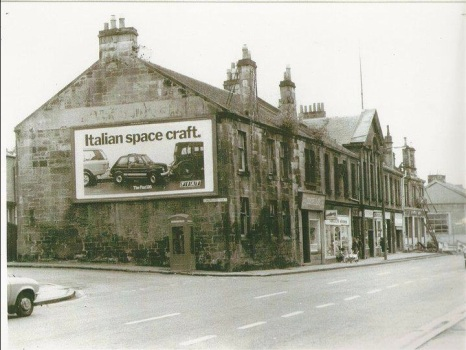 1979 Demolition of The Priory Bar. Church Street on left
