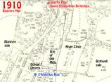 1910 Map Blantyre Works