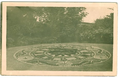 1919 Stonefield Park Floral Clock