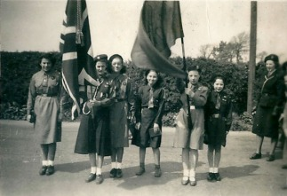 1950 May. 4th Blantyre Guides at Anderson Church