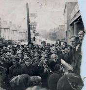 1953 Daniel Morrison at Low Blantyre Co-op