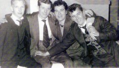 1954 1954 Davie Smith (twinnie), Harry Smith ,Eddie Chassels and Bob Johnstone