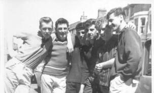 1959 Blantyre lads visit Blackpool. Sent in by Gerry Kelly