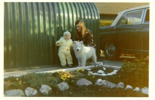 1972 Paul and Janet Veverka at Stonefield Crescent