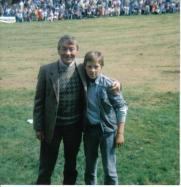 1988 Stewart Hay and Mark McManus at Blantyre Highland Games