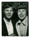 1963 Janet Duncan (left) and friend