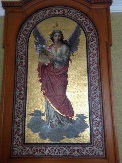 2014 Cochrane Chapel mosaic at Hamilton Town Hall