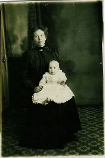 Mrs Rochead and Janet Fleming