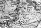 1816 Map Milheugh showing long lade!