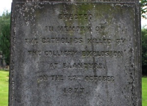 1877 catholics monument dalbeath