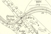 1910 Priory Bridge Map but no house!