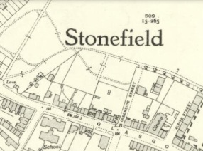 1938 Stonefield Map