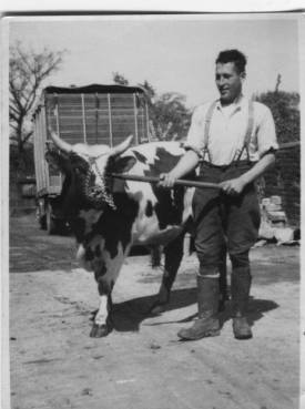 c Early 1950s Walter Rochead of Broompark Farm shared by Jim Cochrane