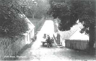 1920 Horse and Cart at Barnhill, Peth Brae