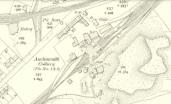 1910 Auchinraith Rows Map