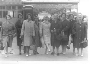 1960 St Joseph's Blantyre women's guild at Blackpool