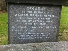 2014 James Banks McNeil buried at Southern Necropolis by Connie Tonner Robertson