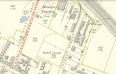 1897 Map showing New Station Road, Low Blantyre