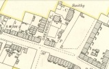 1898 Greenside Street now the site of Low Blantyre Public Park