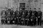 1908 Blantyre Police Group. Photo by D Ritchie, shared by A Bowie