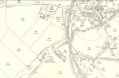 1910 Map showing Greenhall Brickworks at Craigmuir