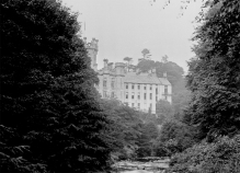 1910 Calderwood Castle. Photo by David Ritchie. Shared by Alex Bowie.