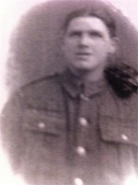 1917 Robert Hastie in WW1 uniform