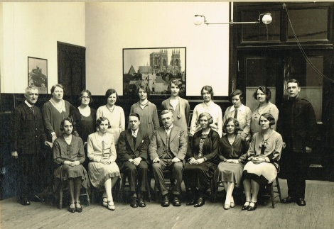 1930 HIgh Blantyre Staff - January by RDS