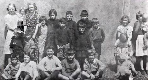 1950s children at Caldervale