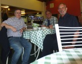 2015 Gordon Cook, Paul Veverka & Alex Rochead at David Livingstone Centre in April