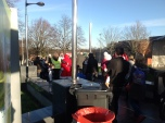 2014 Blantyre Festive Event Santa escorted away safely
