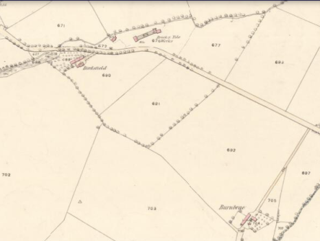 1859 Burnbrae Farm Map