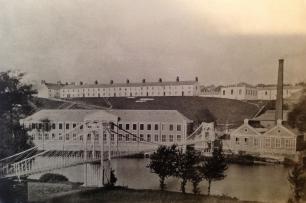 1880 Blantyre Works. Bothwell looking to Blantyre (PV)