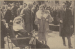 1938 Queen meets Margaret McMahon at Blantyre