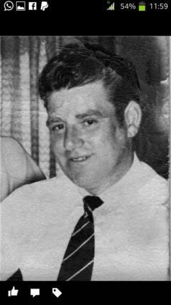 Late 1970s John Cavanagh who left Blantyre for Birmingham