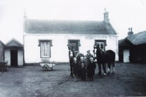 1940s or 50s Blantyre Works Farm by Louise Forrest