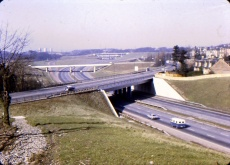 1969 April Construction of M74. Shared by A Hastings