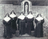 1956 Poor Clare nuns from Cork, Ireland