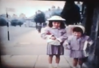 1961 Girls on Station Road
